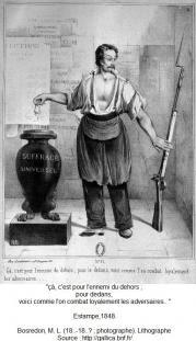 1848, estampe