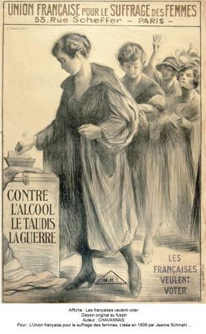 1909 vote femmes