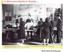 1945 vote des femmes referendum