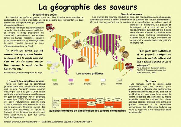 Geographie des saveurs v moriniaux