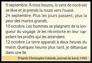 Journal colomb 1493
