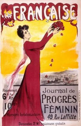 La francaise 1906 poster
