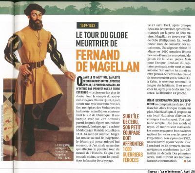 Magellan ca minteresse