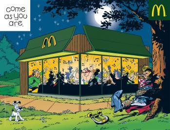 Mcdonalds asterix obelix
