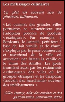 Metissages culinaires