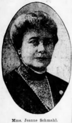 Mme jeanne schmahl 4 sept 1911