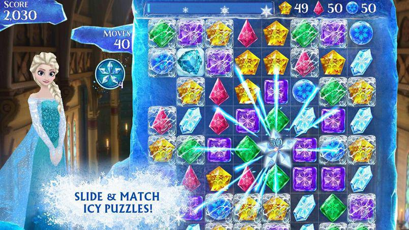 reine des neiges en vente application smartphone - Jeux En Ligne Reine Des Neiges