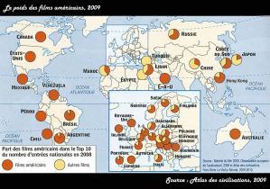 Part films US dans le monde 2009