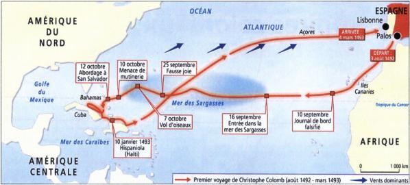 Premier voyage Colomb