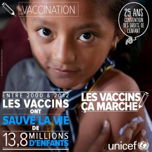 Unicef vaccins